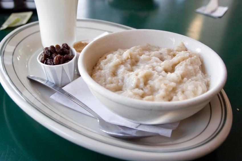 вкусная каша, вкусно и просто, овсяная каша, полезный завтрак