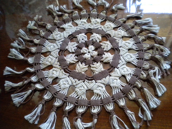 Салфетки из макраме своими руками 27