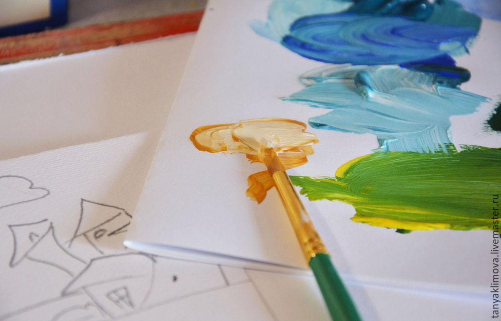 Развиваем детей с помощью аппликации «сказочный город», фото № 8