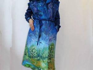 Новое модное пальто без рукавов Весне дорогу!!!. Ярмарка Мастеров - ручная работа, handmade.