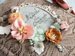 Фотоальбом на Юбилей для мамы. Ярмарка Мастеров - ручная работа, handmade.