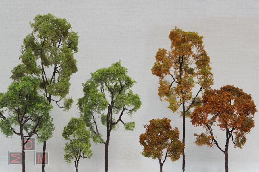 акция в выходные дни, деревья для макета