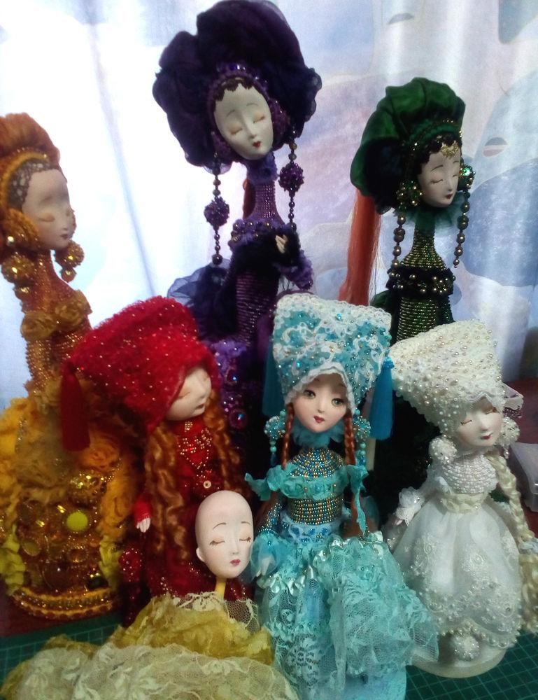 выставка кукол, татьяна адаменко