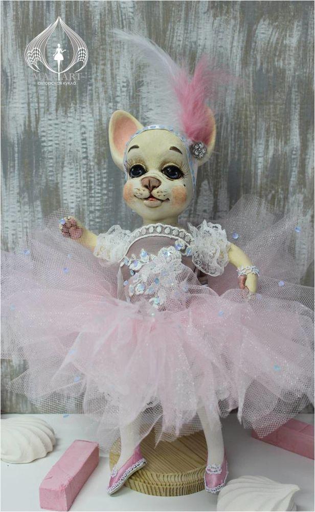 скидка, собачка, авторская кукла, балерина, арлекин, подарок девушке, подарок на любой случай, коллекционная игрушка