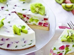 Торт с Желе И Фруктами   Ярмарка Мастеров - ручная работа, handmade