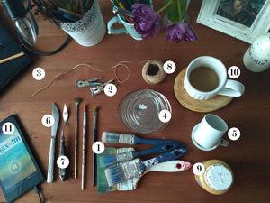 Инструменты начинающего декоратора   Ярмарка Мастеров - ручная работа, handmade