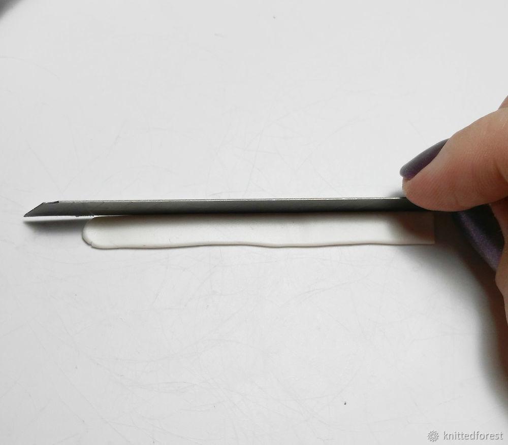 Процесс создания авторской игрушки из полимерной глины. Часть 1. Лепка мордочки, фото № 9