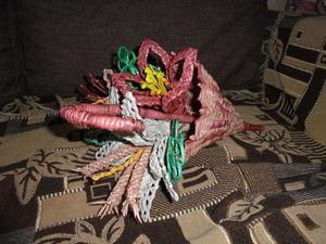 Плетем цветы из бумажной лозы: видео мастер-класс. Ярмарка Мастеров - ручная работа, handmade.