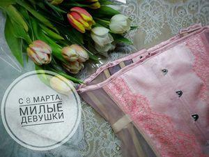 С весной, милые дамы!. Ярмарка Мастеров - ручная работа, handmade.