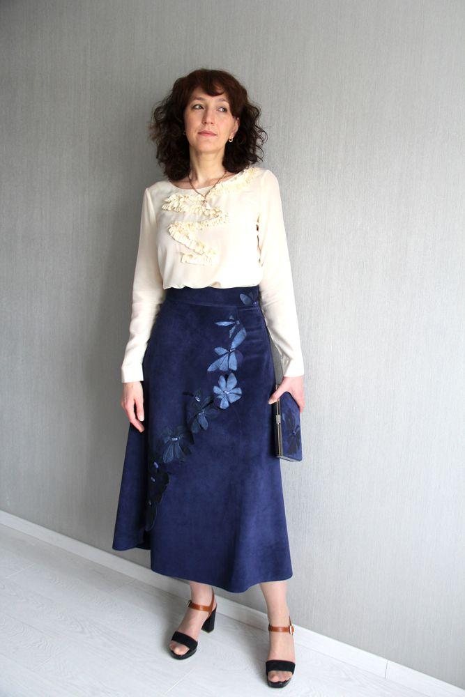 замшевая юбка, платье на заказ, платье на каждый день