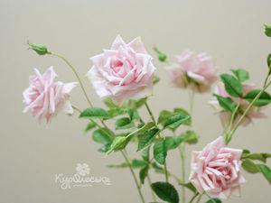Фото с МК Парковая роза.. Ярмарка Мастеров - ручная работа, handmade.