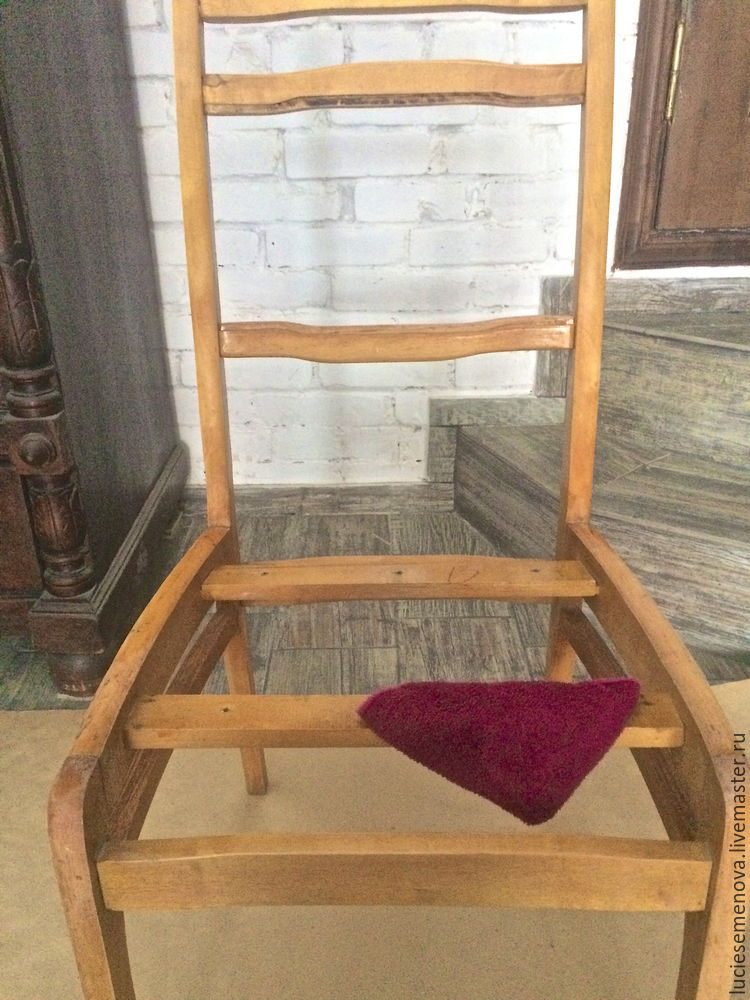 Restoration of an Old Chair: As Good as New!, фото № 5