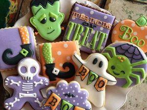 Sweet Halloween, или Идеи декорирования тематических сладостей. Ярмарка Мастеров - ручная работа, handmade.