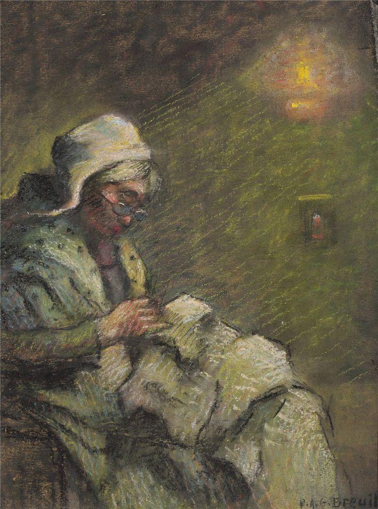 Когда есть чем заняться — стареть некогда: душевные картины о бабушках-рукодельницах, фото № 17