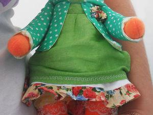 Шьем милую игрушку-лисичку из фетра. Ярмарка Мастеров - ручная работа, handmade.