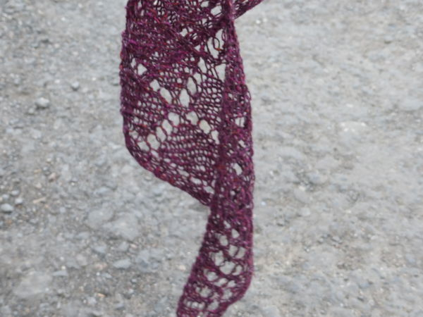 Вязаная шелковая шаль как последний вздох ушедшего лета... | Ярмарка Мастеров - ручная работа, handmade