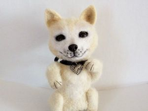 Собачка Альба. Ярмарка Мастеров - ручная работа, handmade.
