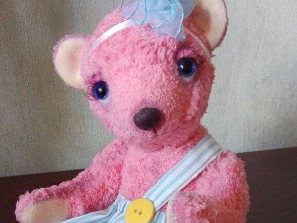 Скидка 15% на мишку тедди Василину | Ярмарка Мастеров - ручная работа, handmade