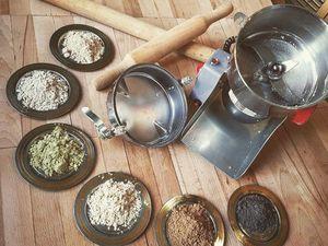 7 видов муки из частично обезжиренного сырья. Ярмарка Мастеров - ручная работа, handmade.
