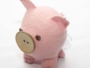 Вебинар Игрушка-свинюшка. Ярмарка Мастеров - ручная работа, handmade.