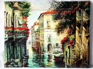 Аукцион с нуля! Быстрый и щедрый! На панно о Венеции!. Ярмарка Мастеров - ручная работа, handmade.
