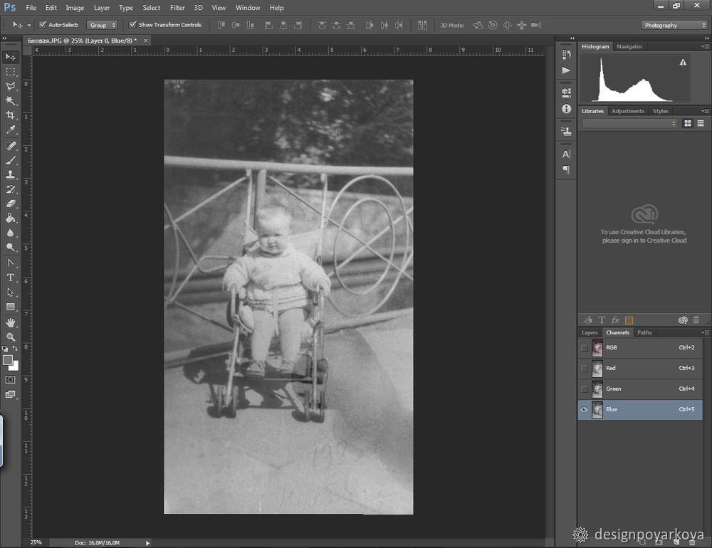 Как убрать ненужные объекты с фото в Photoshop