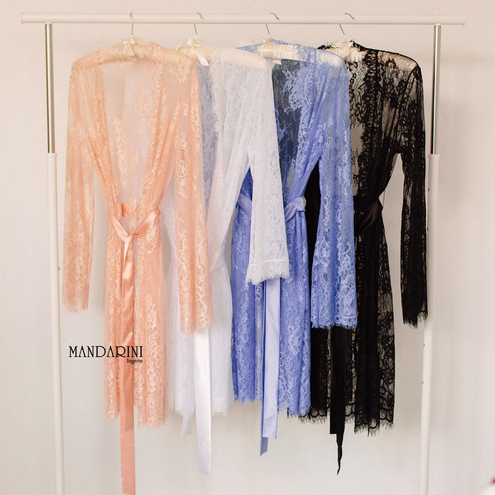 длинный халат, халат mandarini, халат для невесты