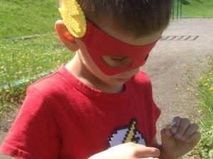 Мама, я — супергерой! Создаем с ребенком символику любимого героя из термомозаики. Ярмарка Мастеров - ручная работа, handmade.