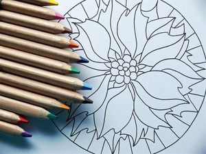 Арт-терапия или раскраски для взрослых.. Ярмарка Мастеров - ручная работа, handmade.