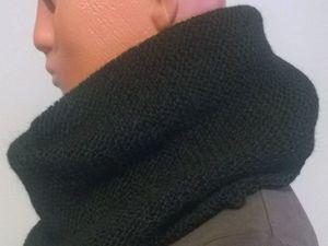 Распродажа до конца лета — 800 рублей Снуд 100% немецкая шерсть. Ярмарка Мастеров - ручная работа, handmade.