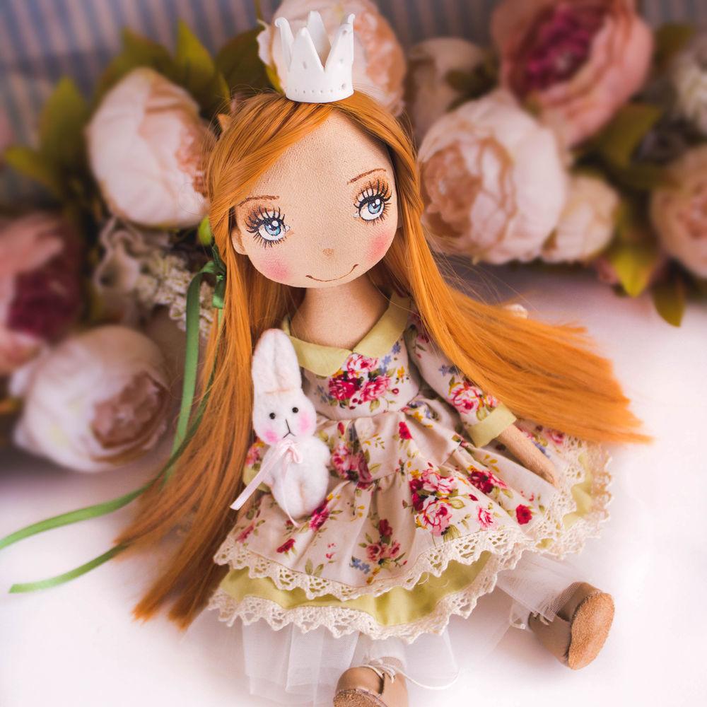 купить интерьерная кукла, купить подарок дочке