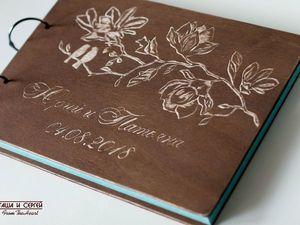 Свадебный фотоальбом для Оксаны :). Ярмарка Мастеров - ручная работа, handmade.