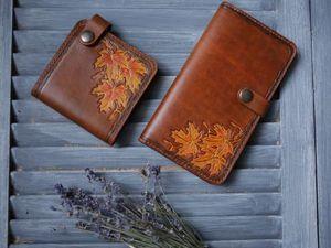 Как сделать кошелек кожаный — уроки мастерства!. Ярмарка Мастеров - ручная работа, handmade.