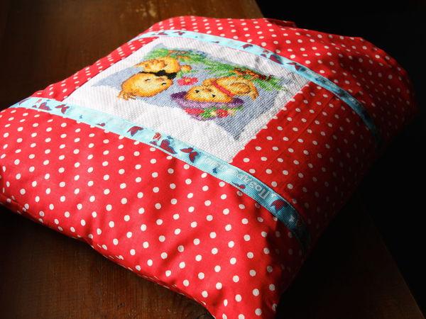Детские подушечки с вышивкой в ассортименте!) | Ярмарка Мастеров - ручная работа, handmade