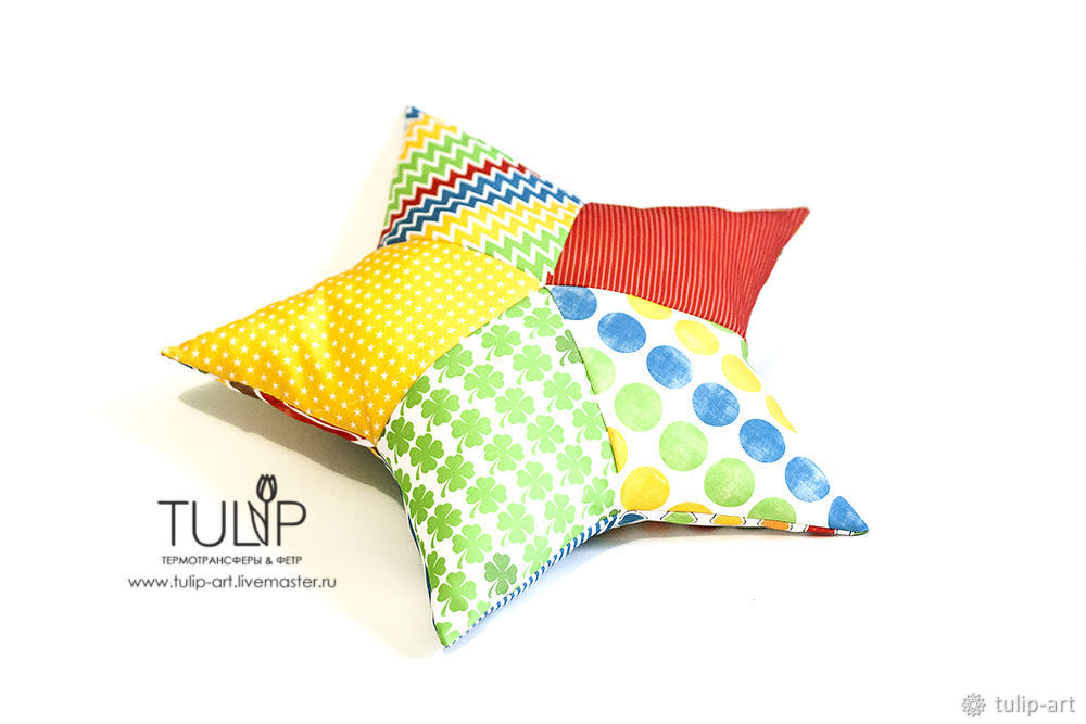 Sewing a Bright Star Pillow Quickly and Easily, фото № 17