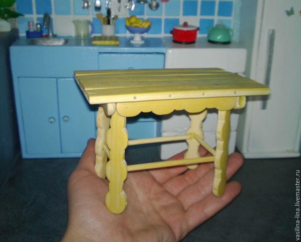 миниатюрный стол