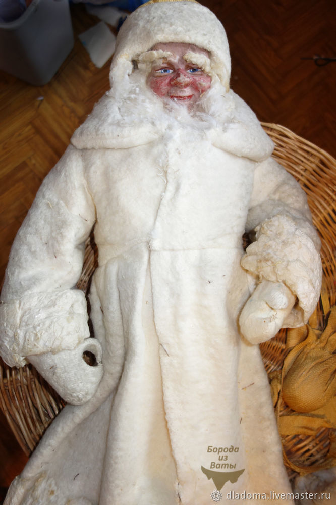 тканевый дед мороз
