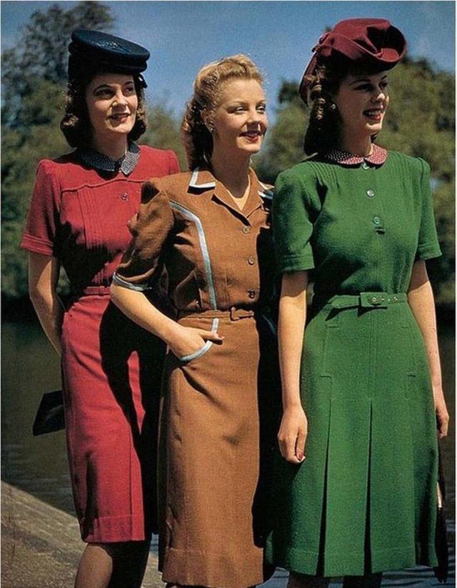 Ссср мода 40 х годов платья