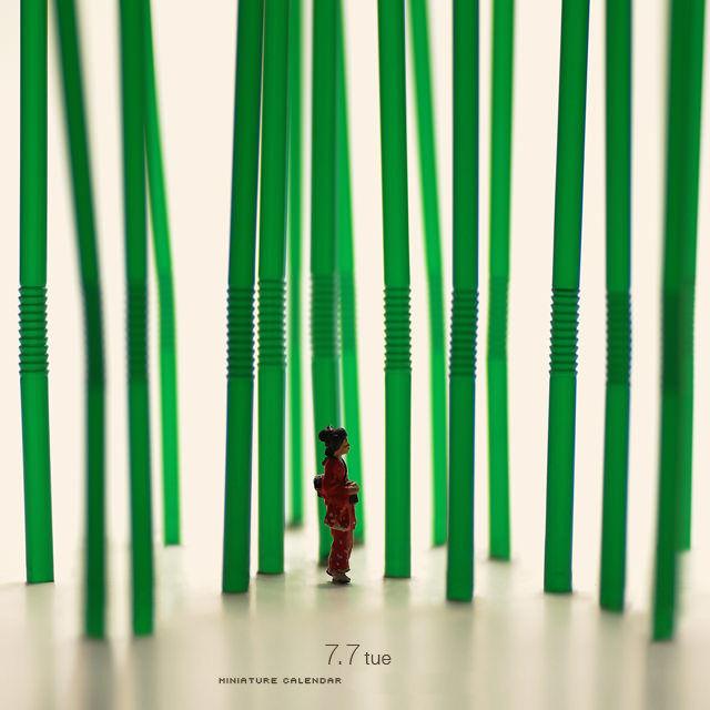 Миниатюрная точка зрения на мир — Тацуя Танака