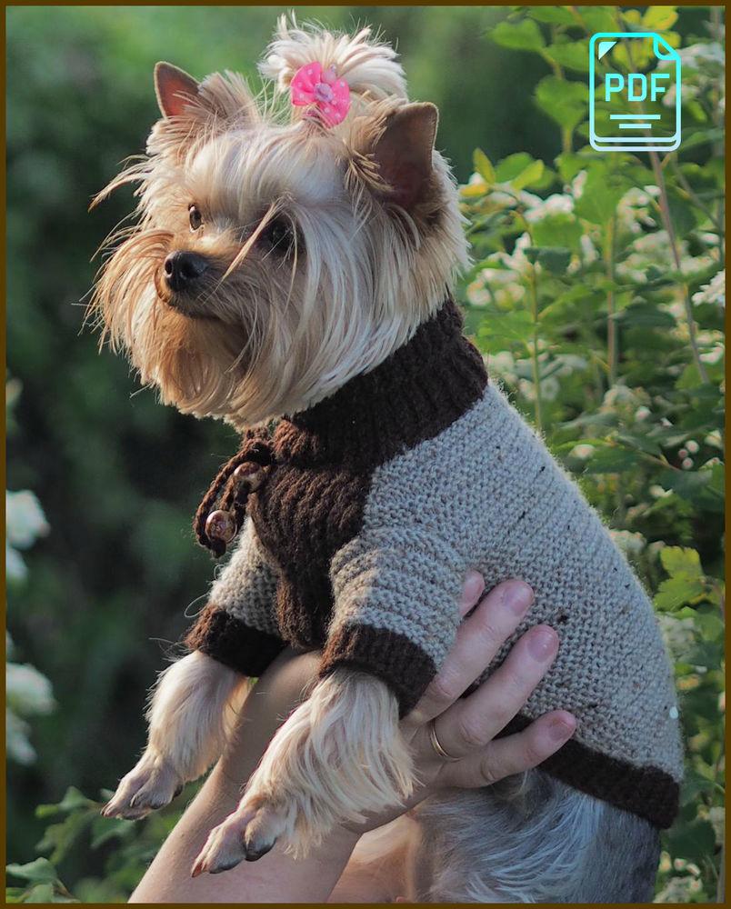 Вязания одежда для животных