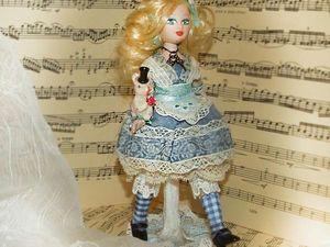 Моя Чудесная Алиса — фотосессия среди нот и бус. Ярмарка Мастеров - ручная работа, handmade.