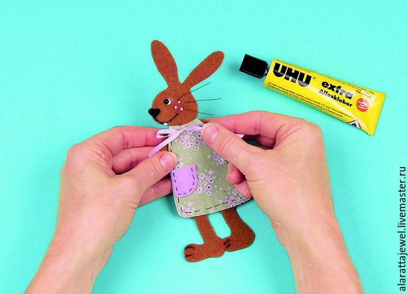 делаем с детьми, пасхальный кролик, декор детской