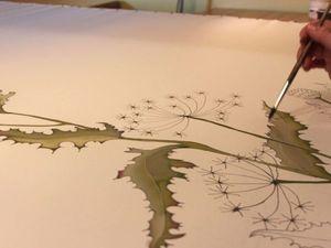 Сложности большого фона. Ярмарка Мастеров - ручная работа, handmade.