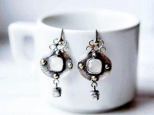 Последний день распродажи украшений из серебра. Скидки до 30%. Ярмарка Мастеров - ручная работа, handmade.