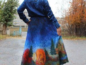 Новая юбка Золотая Осень!. Ярмарка Мастеров - ручная работа, handmade.