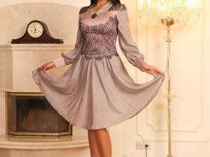 При покупке платья свитшот в подарок!. Ярмарка Мастеров - ручная работа, handmade.