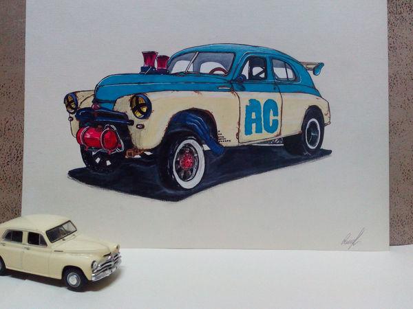 Авто из прошлого | Ярмарка Мастеров - ручная работа, handmade
