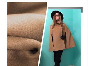Ирина Боровикова в новом пальто-кейп от MELLO | Ярмарка Мастеров - ручная работа, handmade