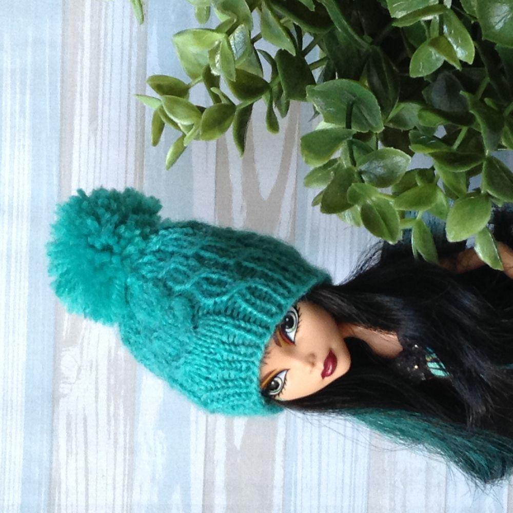 шапка для куклы