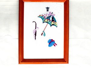Нежадный Аукцион на вышитую картину!. Ярмарка Мастеров - ручная работа, handmade.
